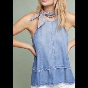 Clothe & Stone Multistitched Halter Cami Tank